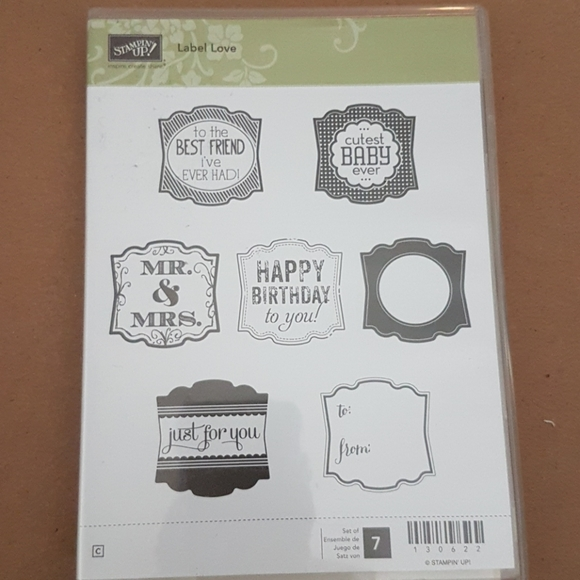 Stampin Up! Label Love